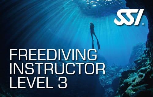 SSI Freediving Instructor Level 3