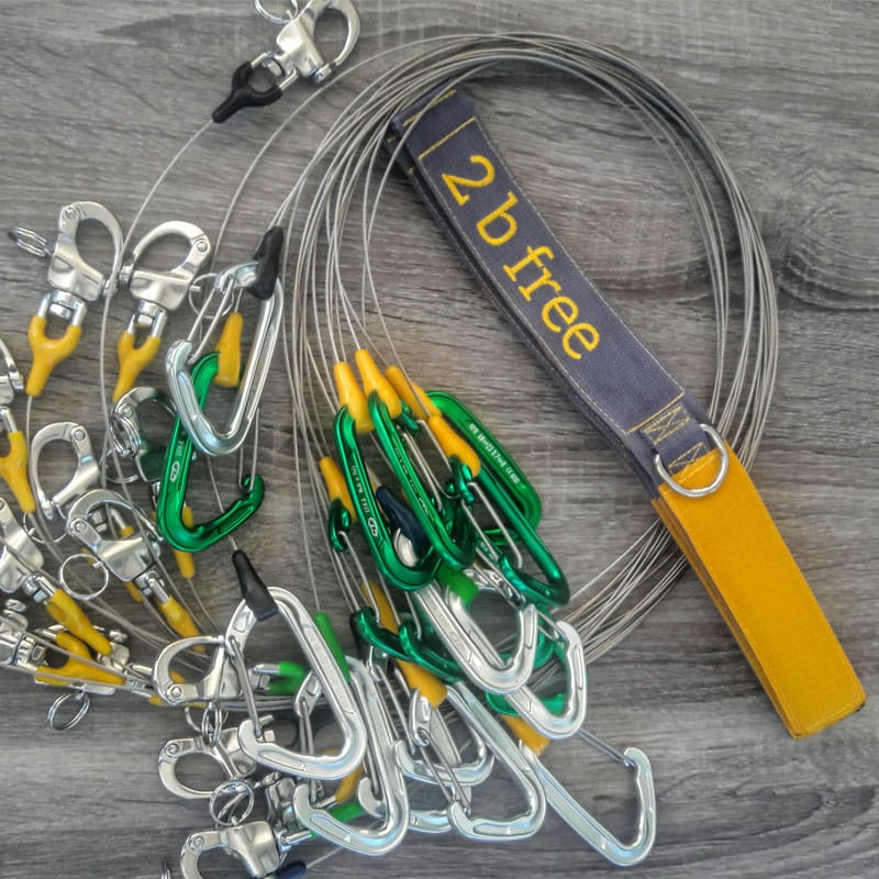 HERCHR Scuba Free-diving lanyard Diving Safe-living Rope Wristband Scuba Diving Accessories