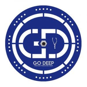 Go Deep Aluminium Freediving Bottom Plate