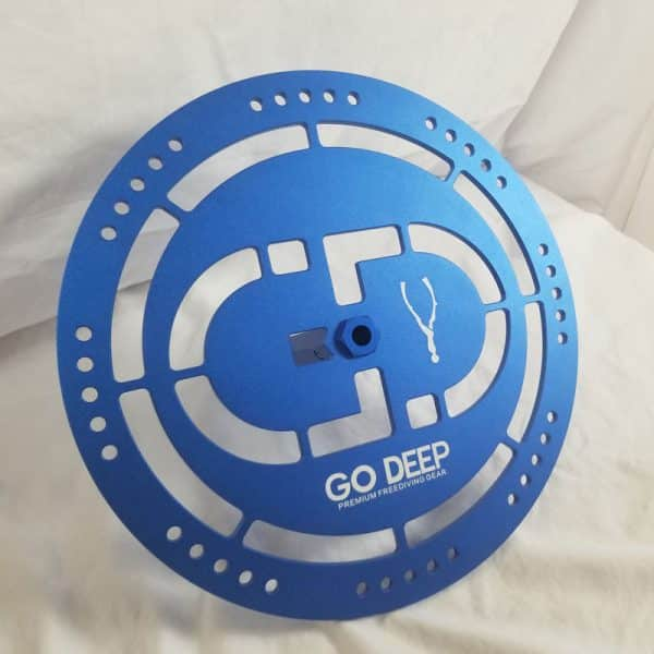 Go Deep Aluminium Freediving Bottom Plate