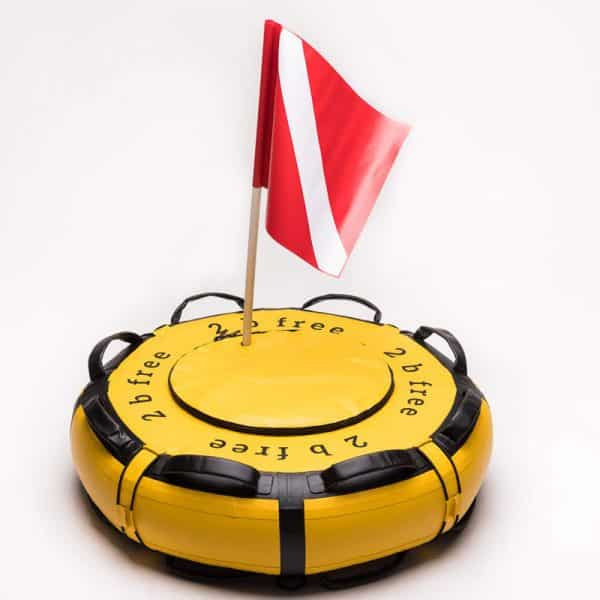 The 2b Free 73cm Freediving Buoy