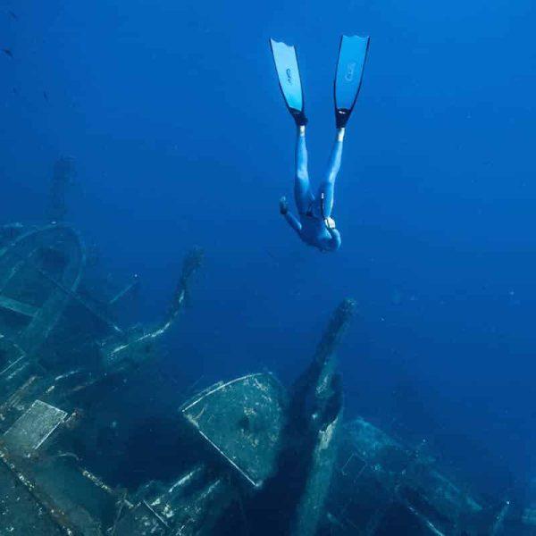 Captain Nemo Fiberglass Bifins