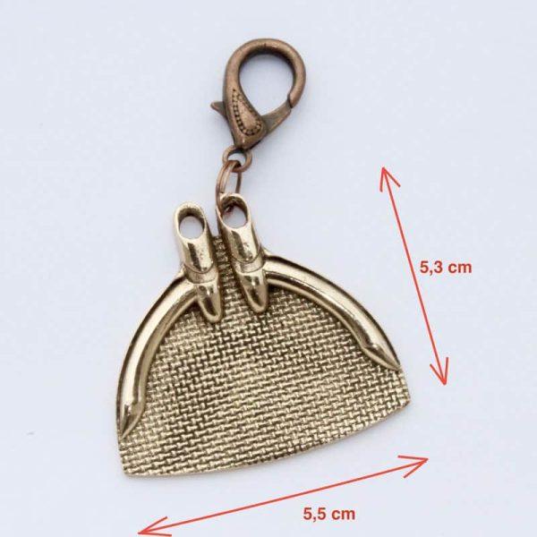 Bronze Monofin Pendant