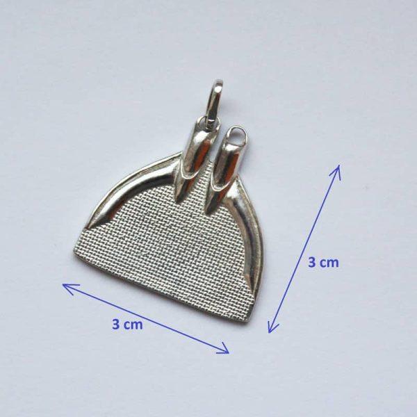 Silver Monofin Pendant