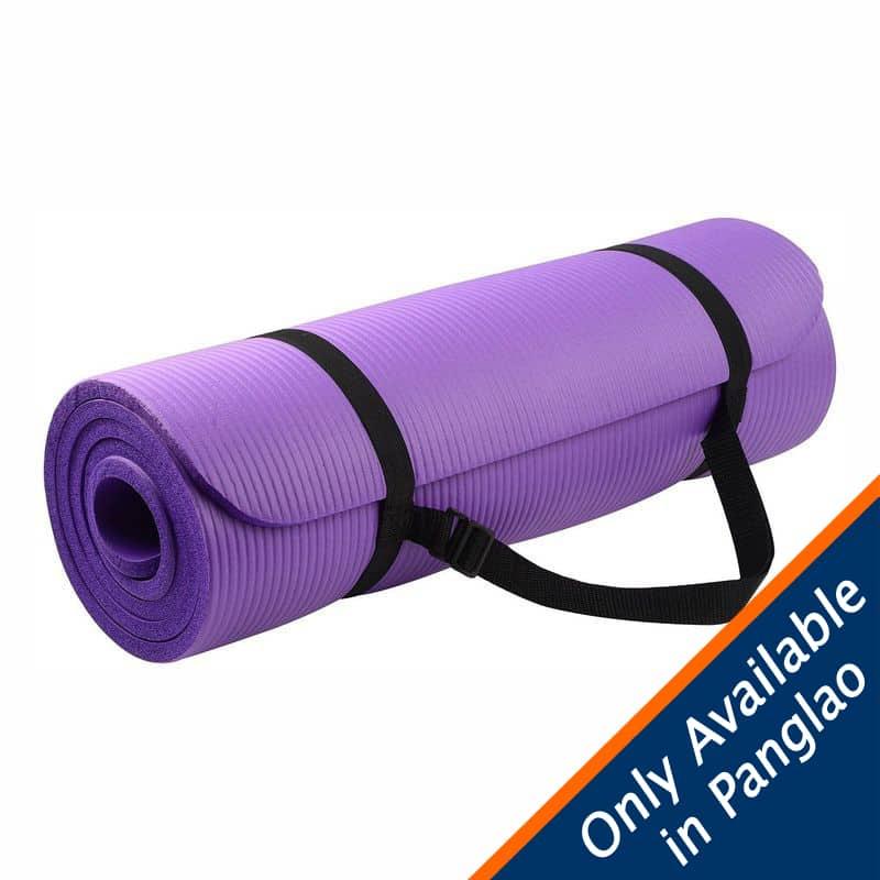 12mm Extra Thick High-Density Yoga Mat