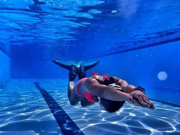Monofin Pool Training