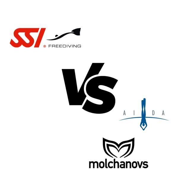 SSI vs AIDA and Molchanovs