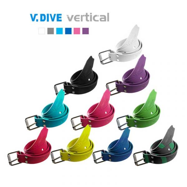 V DIVE Rubber Freediving Weight Belt