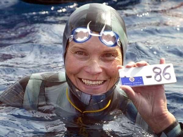 History of Freediving Natalia Molchanova