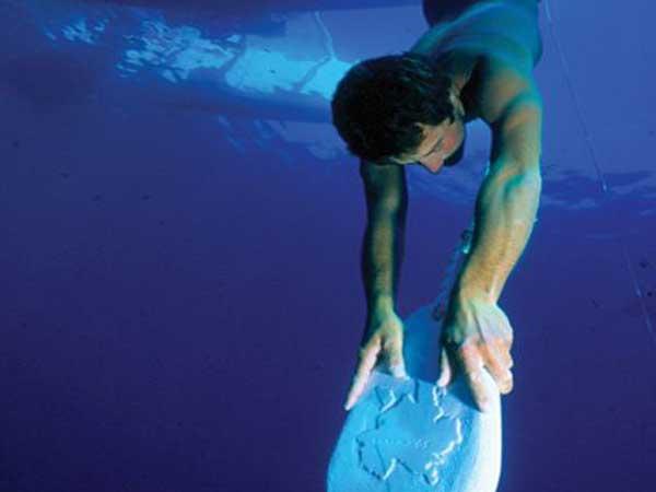 The History of Freediving Skandalopetra Diver