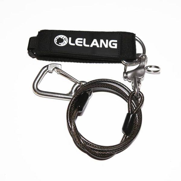 Lelang Freediving Lanyard Black