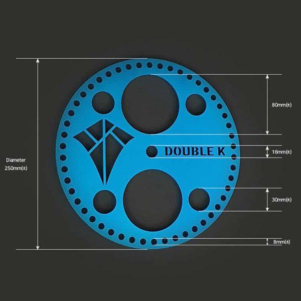 Double K Aluminium Bottom Plate