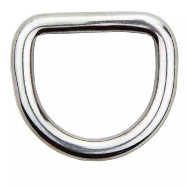 Stainless Steel 316 Marine Grade D Ring