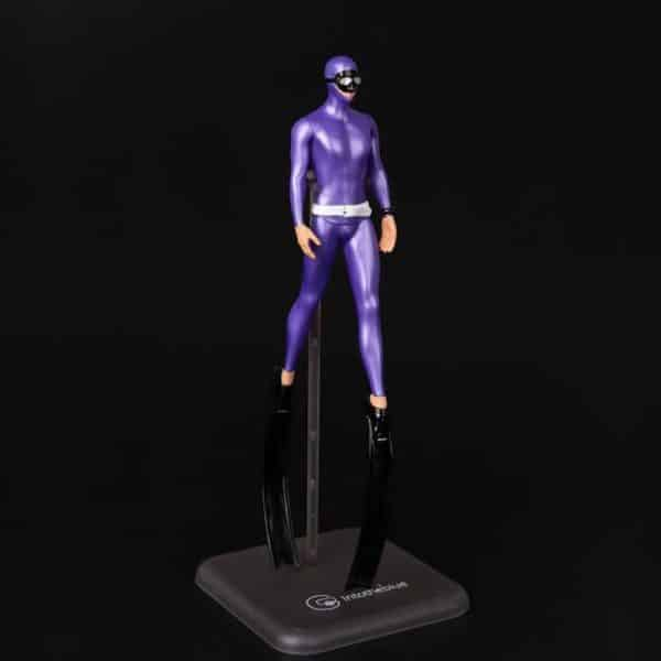 Miniature Freediver Model