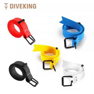 Double K Silicone Freediving Weight Belt