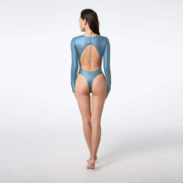 Bestdive Blooming Open-Back Bikinisuit